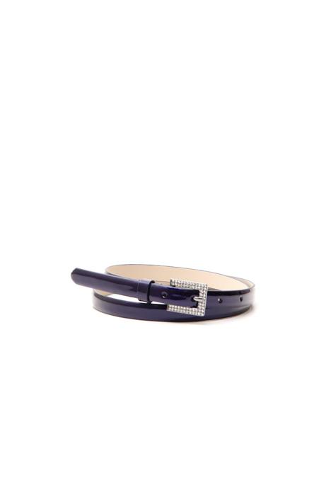 Rhinestone buckle belt Diffusione Tessile
