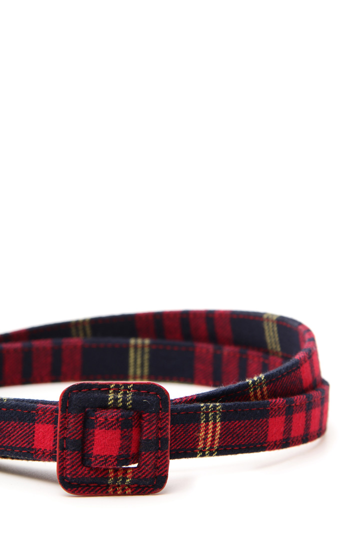 Cintura tessuto check Diffusione Tessile