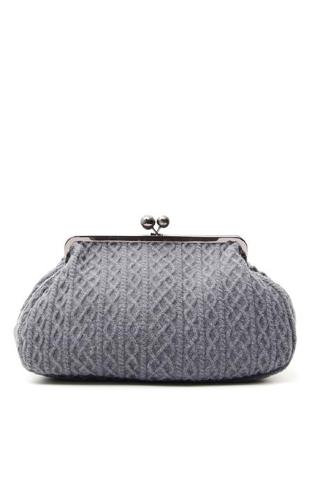 Maxi bag in maglia a trecce Diffusione Tessile