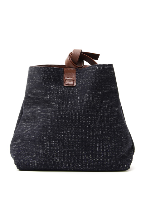 Double-face denim envelope bag Diffusione Tessile