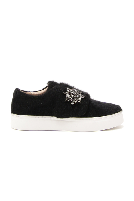 Wool-covered sneakers Diffusione Tessile