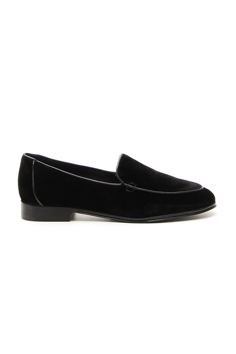 Smooth velvet moccasin Diffusione Tessile