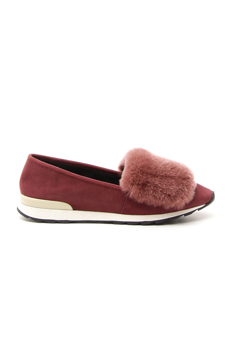 Sporty suede moccasin Diffusione Tessile