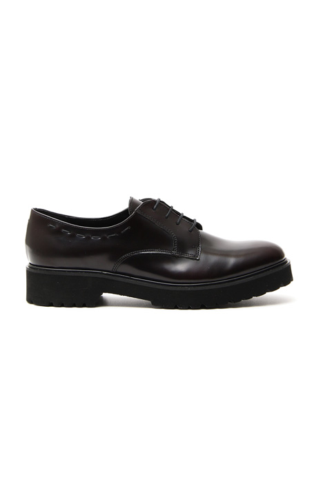 Laminated derby shoes Diffusione Tessile
