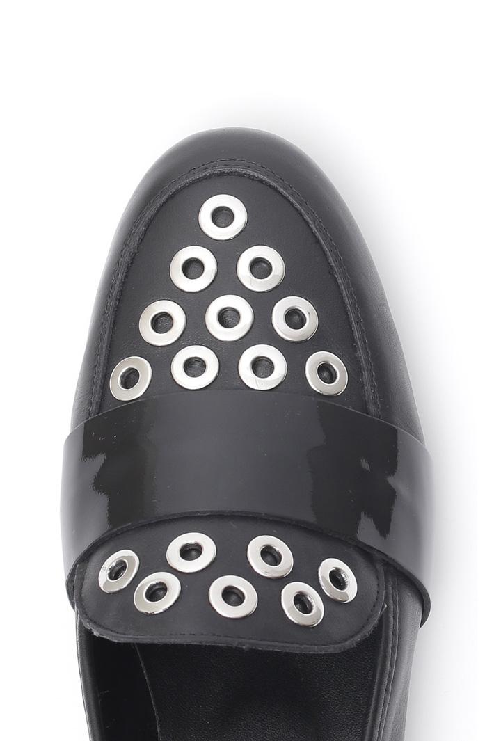 Loafer con occhielli Diffusione Tessile