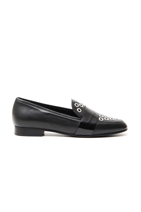 Loafer with circle rings Diffusione Tessile