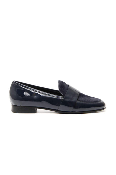 Patent leather moccasin Diffusione Tessile