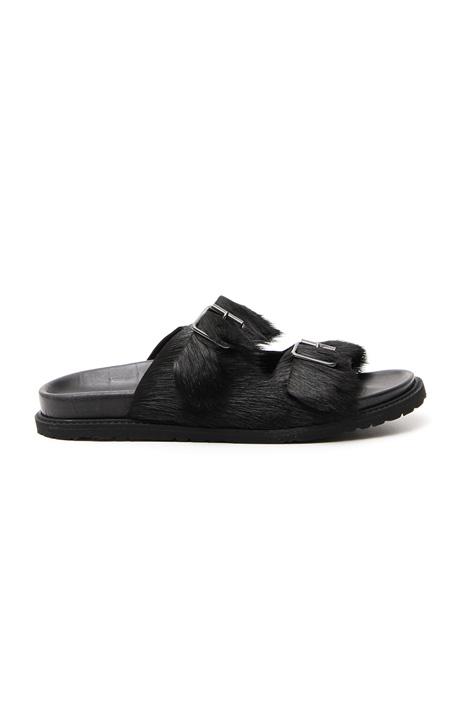 Fur sandals Diffusione Tessile
