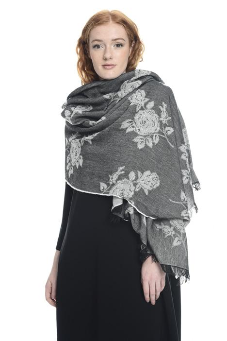 Jacquard viscose scarf Diffusione Tessile