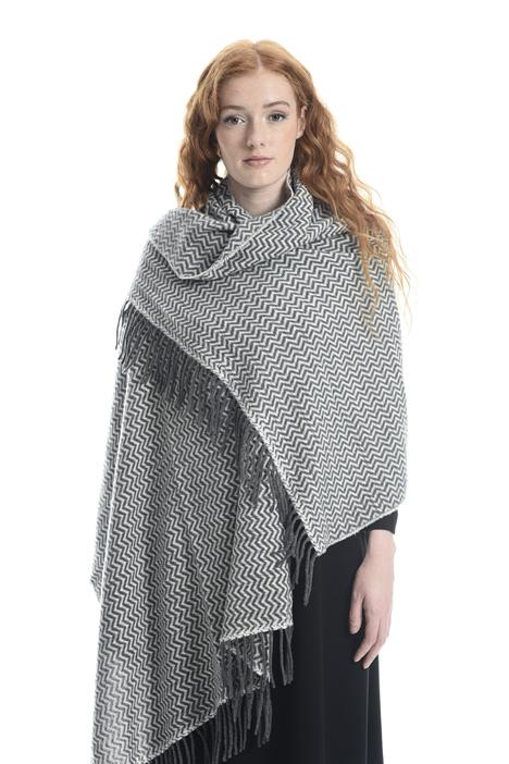 Sciarpa in lana chevron Diffusione Tessile