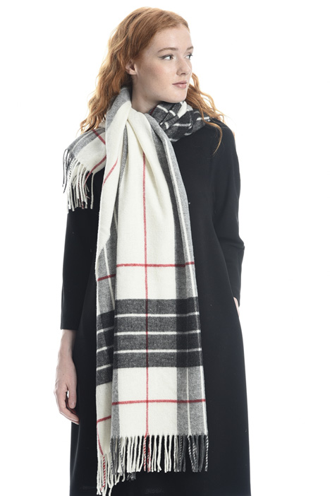 Sciarpa scozzese in misto lana