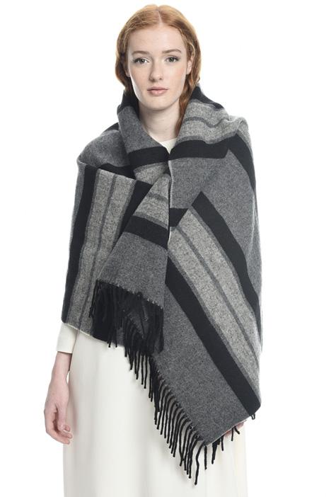 Sciarpa misto lana e cotone Diffusione Tessile