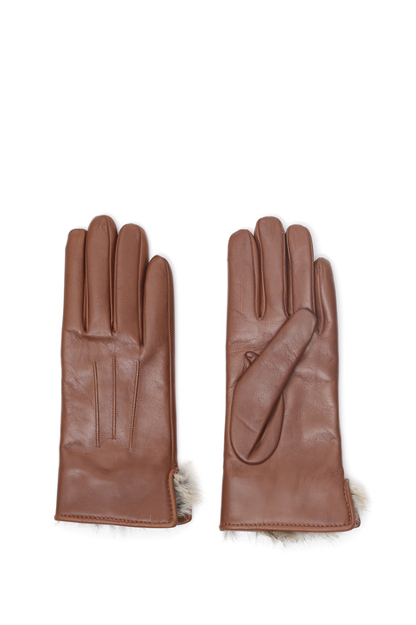 Fur and leather gloves Diffusione Tessile