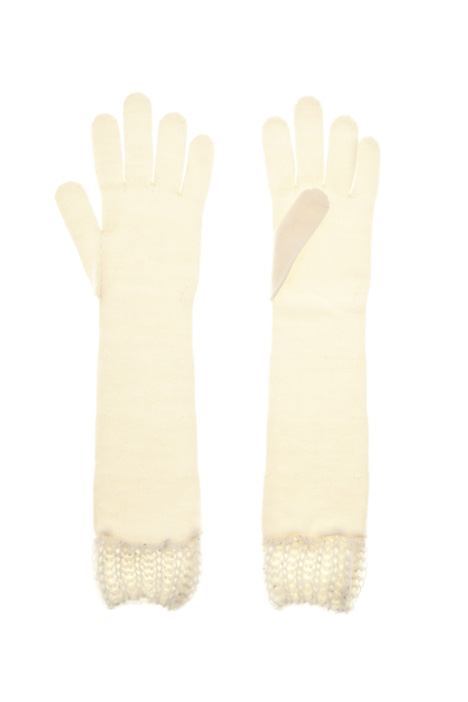 Long knitted gloves Diffusione Tessile