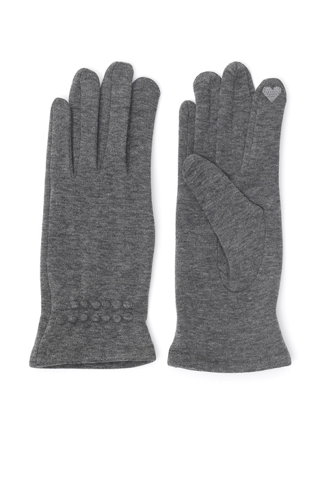 Fleece gloves. Diffusione Tessile
