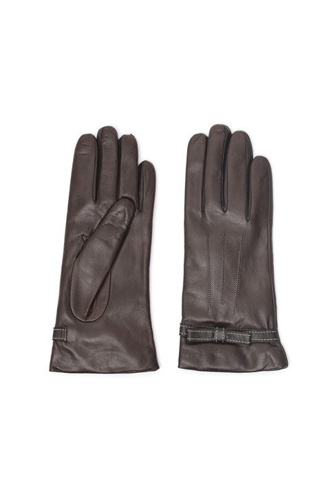 Stitched leather gloves Diffusione Tessile