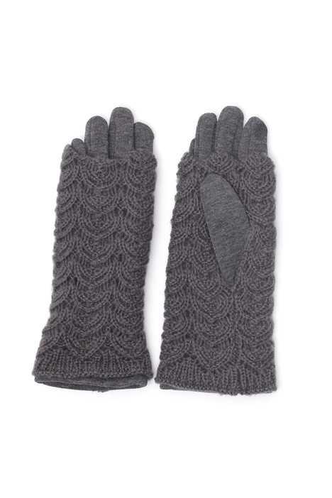 Gloves with sleeves Diffusione Tessile