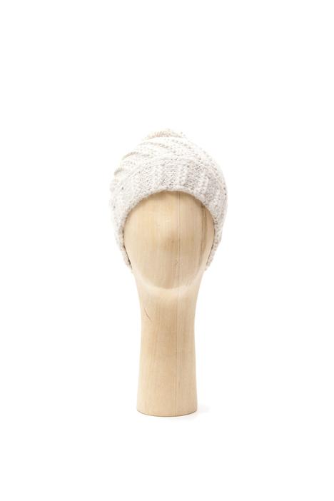 Berretto in lana con pon-pon Diffusione Tessile