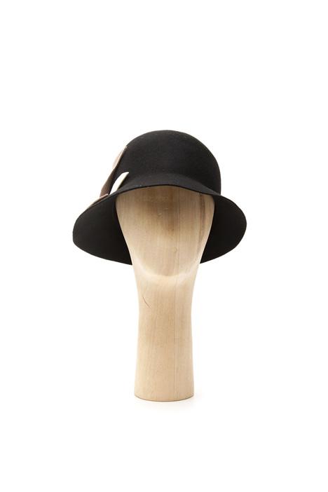 Cappello cloche in lana Diffusione Tessile