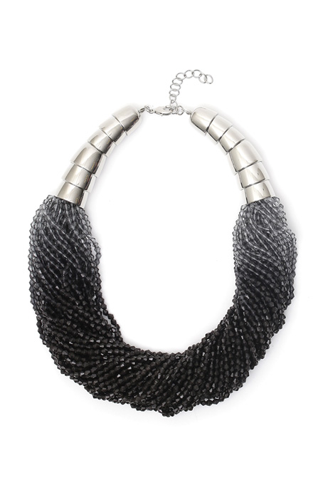 Multi-row necklace Diffusione Tessile
