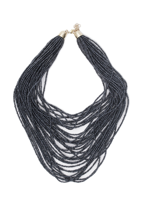 Glass multi-row necklace Intrend