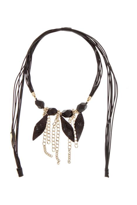 Natural stone necklace Diffusione Tessile