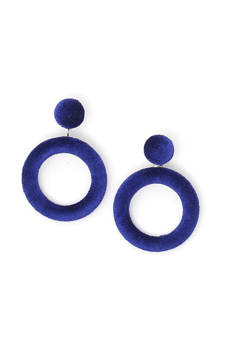 Velvet pendant earrings Intrend