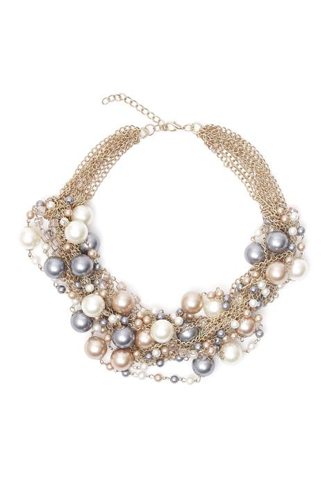 Collana multifilo con perle Diffusione Tessile