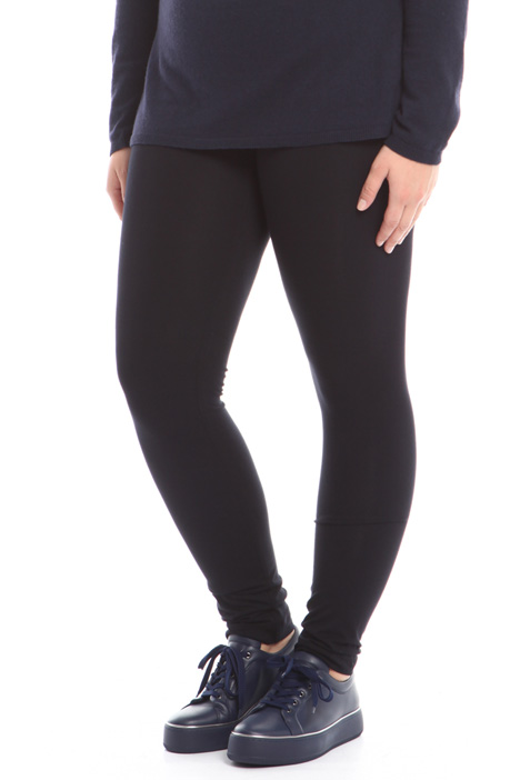 Stretch viscose leggings Diffusione Tessile