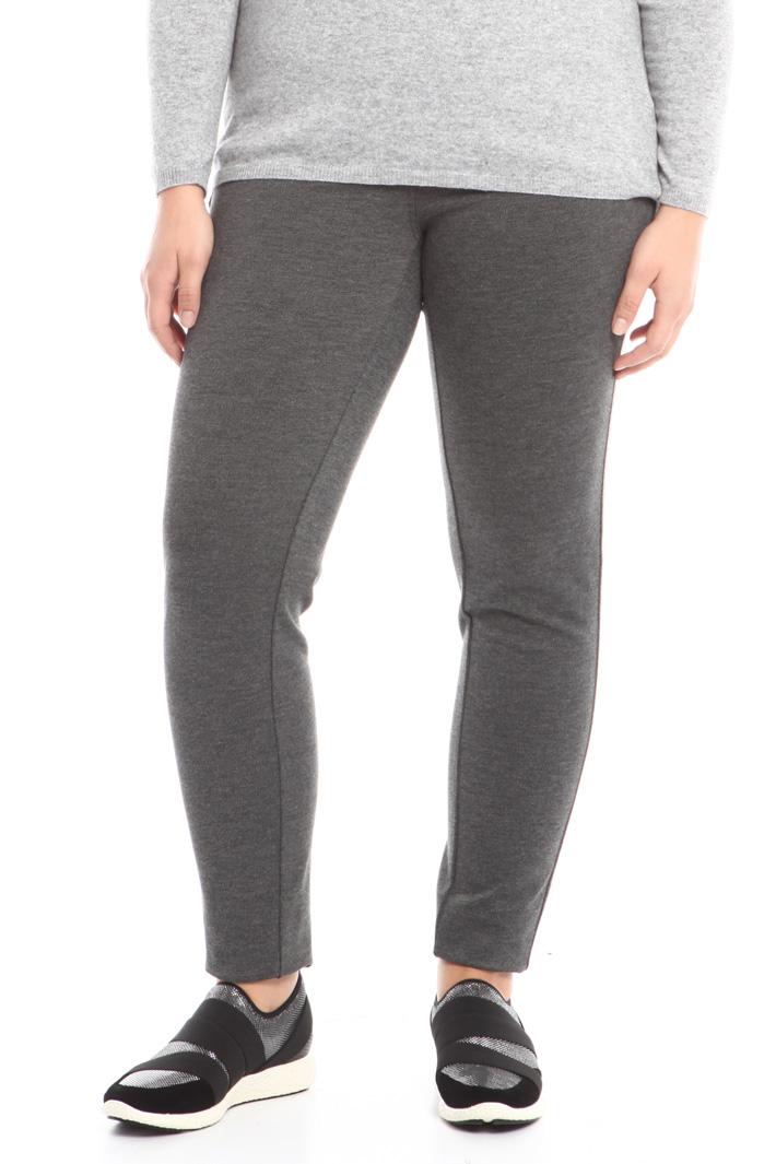 Pantalone in jersey Diffusione Tessile
