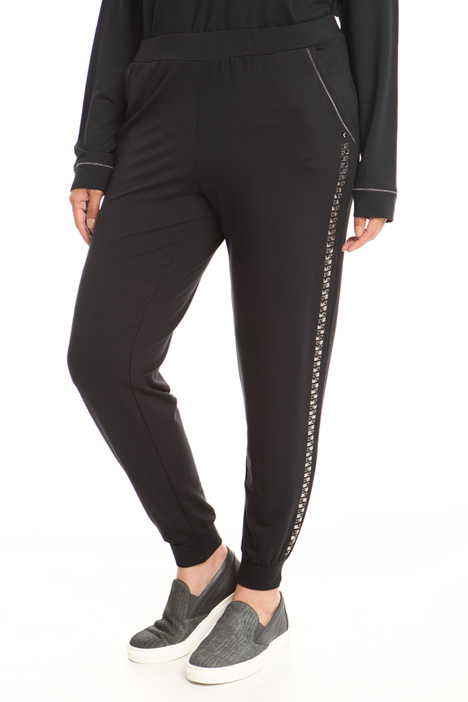 Jersey jogging style trousers Diffusione Tessile