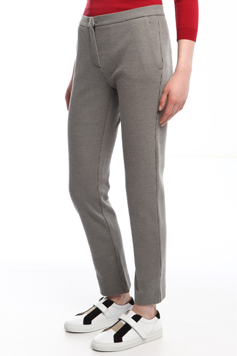 Pantaloni in jersey jacquard Diffusione Tessile