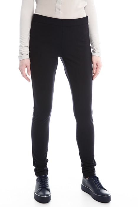 Fitted viscose leggings Diffusione Tessile