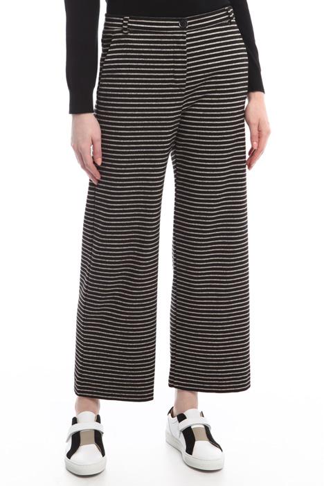 Pantaloni in jersey rigato Diffusione Tessile