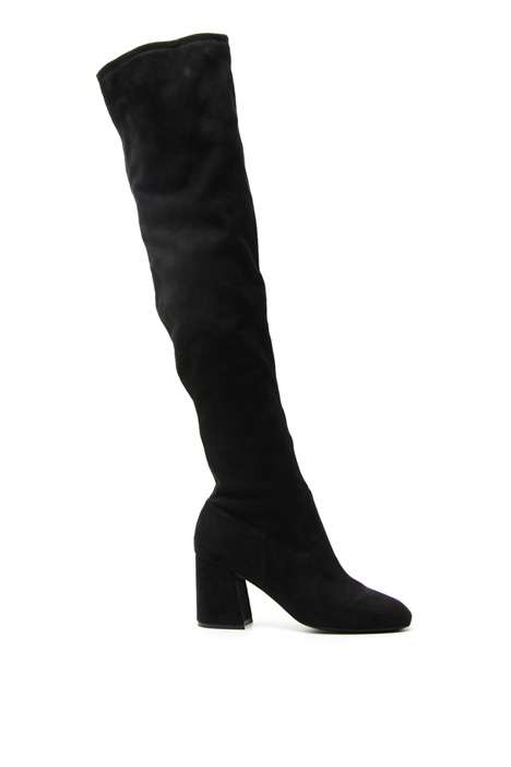 Suede-effect boots Diffusione Tessile