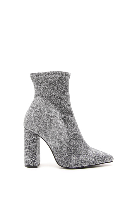 Heeled glitter ankle-boots Diffusione Tessile