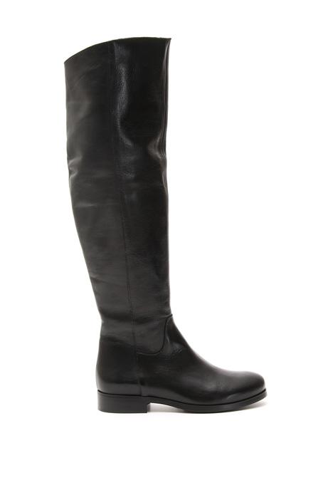 Stivali con gambale morbido Diffusione Tessile