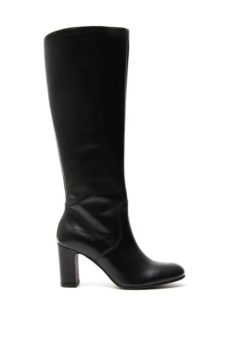 Stivali con zip Diffusione Tessile