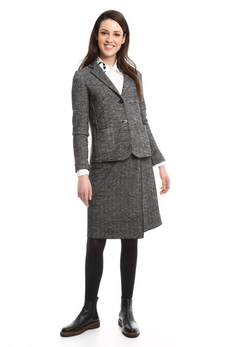 Chevron jersey jacket Diffusione Tessile