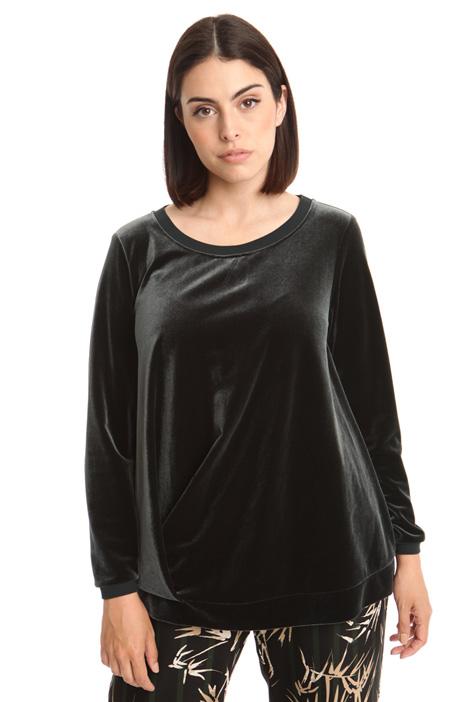 Velvet sweatshirt Diffusione Tessile
