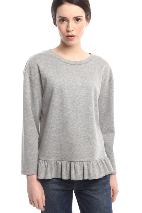 Compact jersey sweatshirt Diffusione Tessile