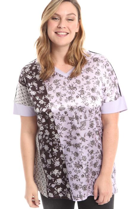 T-shirt a kimono in jersey Diffusione Tessile