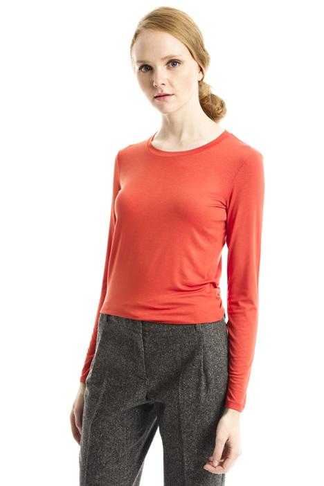 T-shirt stretch in viscosa Diffusione Tessile