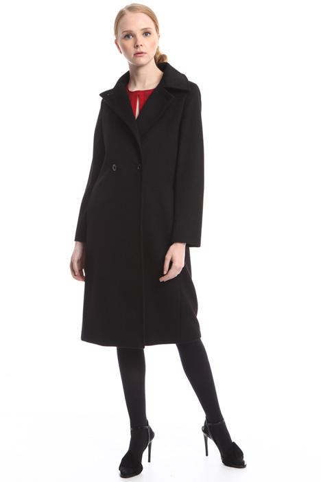 Cappotto doppiopetto in drap Diffusione Tessile