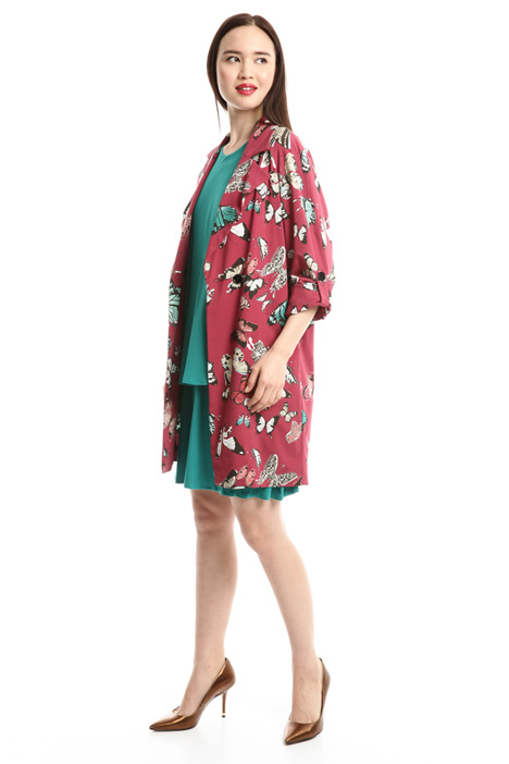 Printed duster coat Intrend
