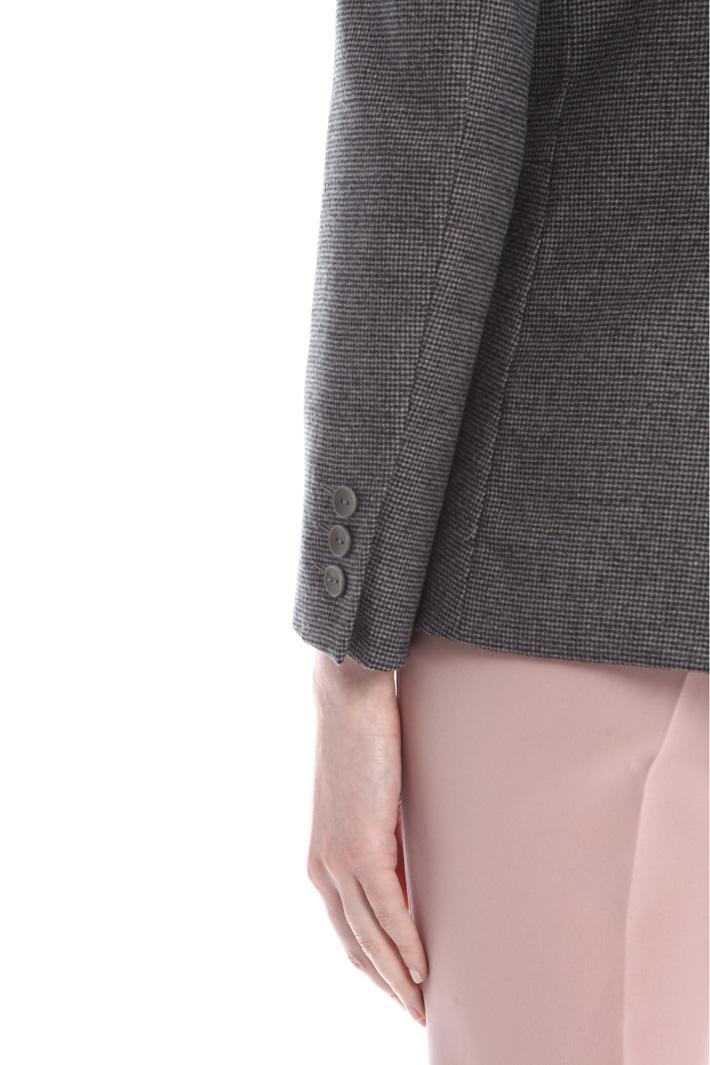 Blazer in flanella di lana Diffusione Tessile