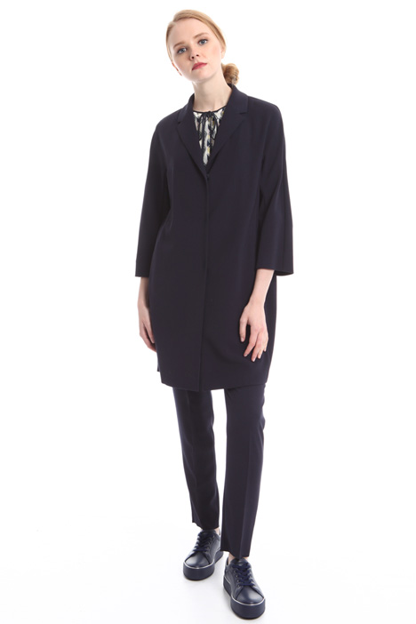 Wool crepe coat Intrend
