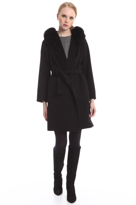 Belted coat Diffusione Tessile