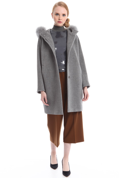 Cappotto in lana e seta Diffusione Tessile