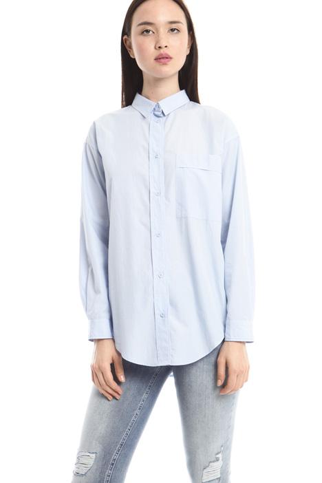 Camicia in popeline di cotone Diffusione Tessile
